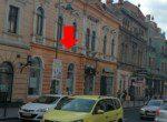 Spatiu comercial de inchiriat Str. Muresenilor, Brasov centru, poza laterala