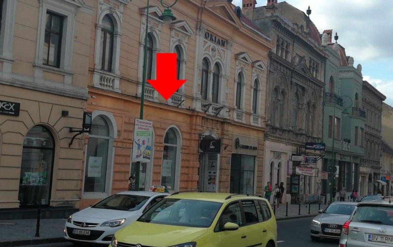 Brasov centru, inchiriere spatiu comercial Str. Muresenilor, imagine laterala