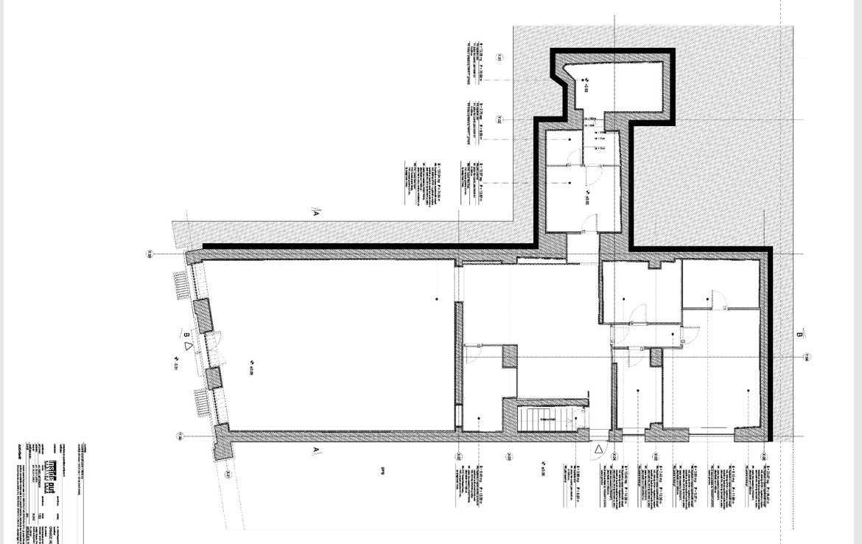 Brasov centru, inchiriere spatiu comercial Str. Muresenilor, poza plan