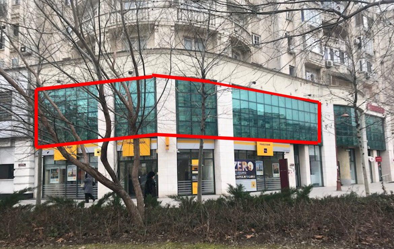 Bucuresti centru, inchiriere spatiu comercial Bld. Unirii, imagine frontala