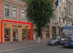 Cluj Napoca Centru, inchiriere spatiu comercial Piata Unirii, poza frontala