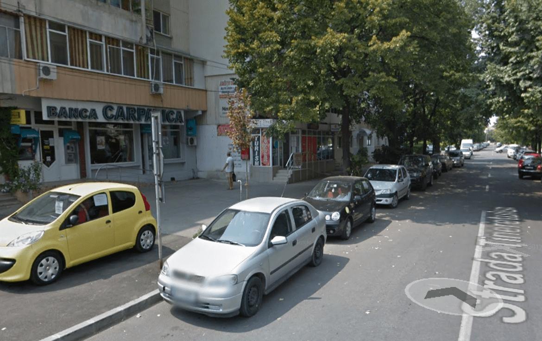 Braila est, inchiriere spatiu comercial Calea Calarasilor, poza trotuar
