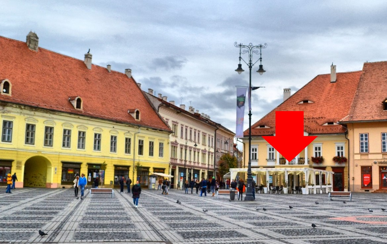Sibiu Centru, inchiriere spatiu comercial Piata Mare, imagine vecinatate