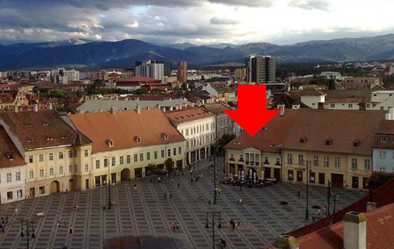 Sibiu Centru, inchiriere spatiu comercial Piata Mare, vedere Piata Mare