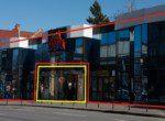 Spatiu comercial de inchiriat Bld. N. Balcescu, Brasov Centru, vedere frontala