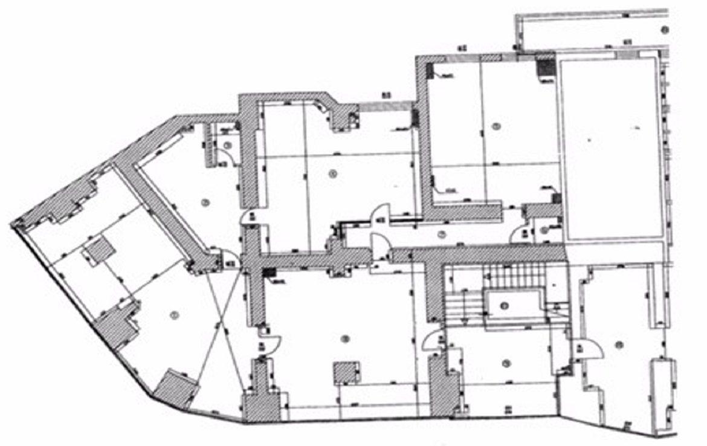Bucuresti centru, inchiriere spatiu comercial Bld. Unirii, imagine plan
