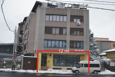 Bucuresti vest, inchiriere spatiu comercial Str. P. Ispirescu, vedere frontala
