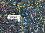Spatiu comercial de inchiriat Luceafarul Mall, Galati centru, poza harta