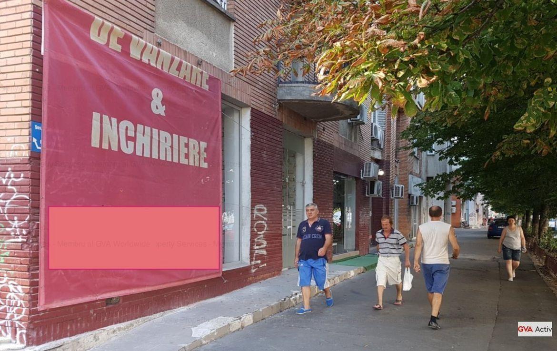 Bucuresti est, inchiriere spatiu comercial Soseaua Mihai Bravu, imagine laterala
