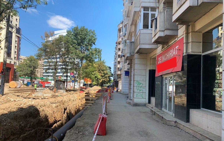 Bucuresti est, inchiriere spatiu comercial Bulevardul Decebal, vedere laterala