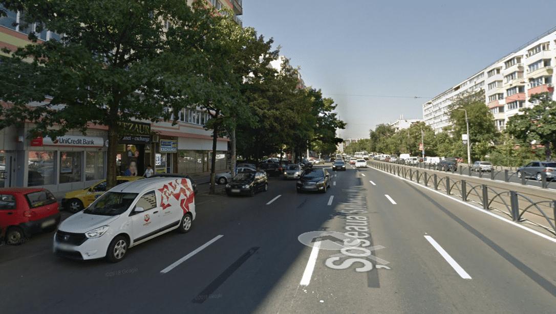 Bucuresti centru, inchiriere spatiu comercial Soseaua Mihai Bravu, imagine stradala
