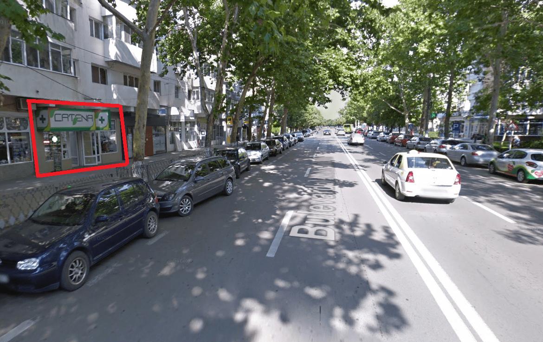 Slobozia centru, inchiriere spatiu comercial Bulevardul Matei Basarab, poza vecinatate