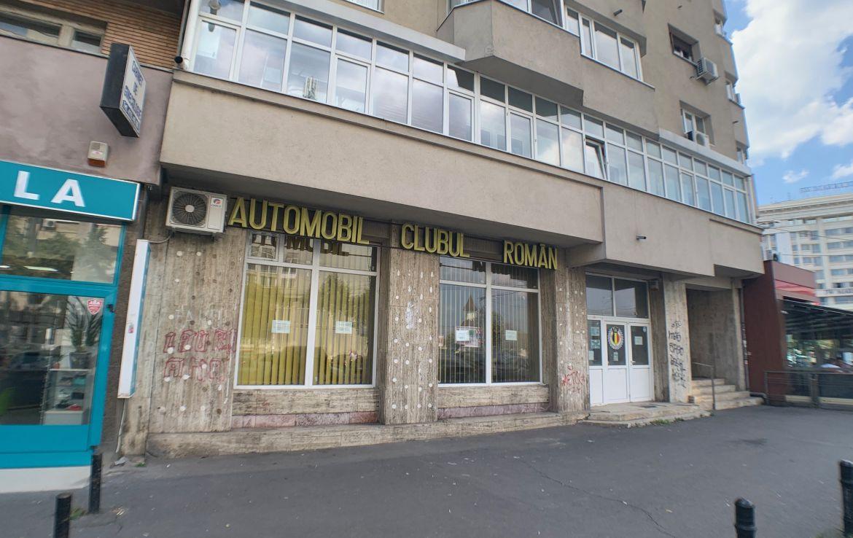 Bucuresti centru, inchiriere spatiu comercial 13 Septembrie, poza vitrina