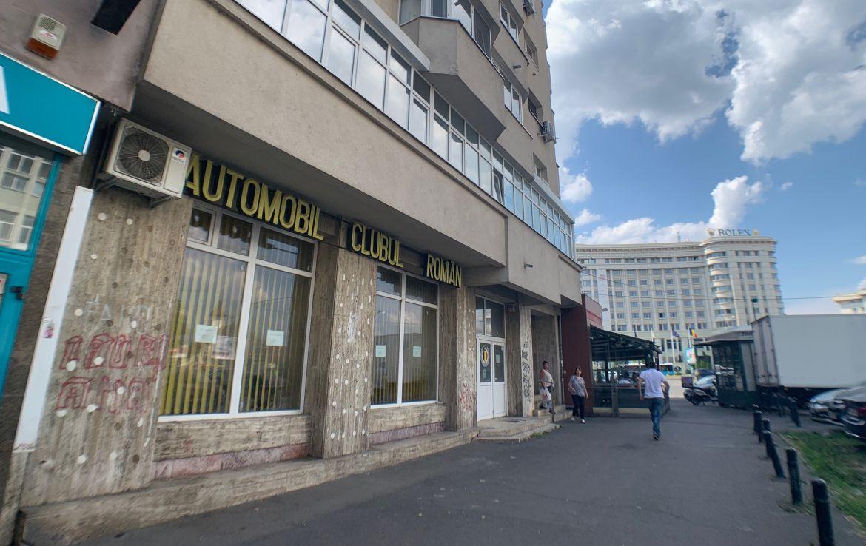 Bucuresti centru, inchiriere spatiu comercial 13 Septembrie, poza lateral spatiu