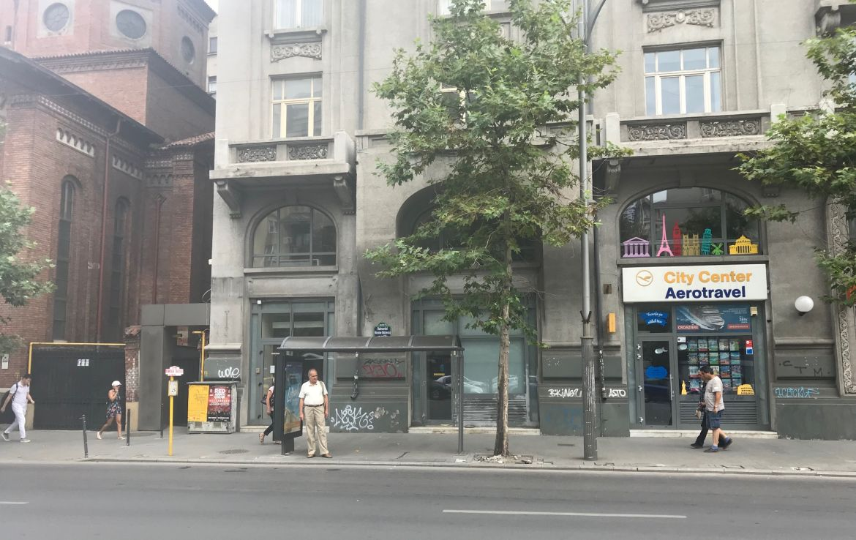 Bucuresti centru, inchiriere spatiu comercial Bulevardul Nicolae Balcescu, imagine cladire
