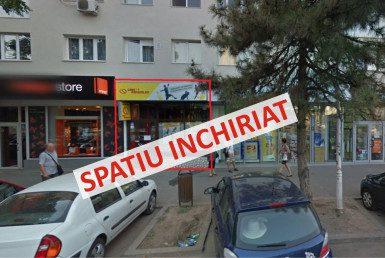 Bucuresti est, inchiriere spatiu comercial Soseaua Mihai Bravu, poza fatada