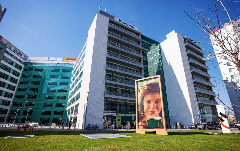 Bucuresti nord, inchiriere spatiu comercial Floreasca Business Park, cladire