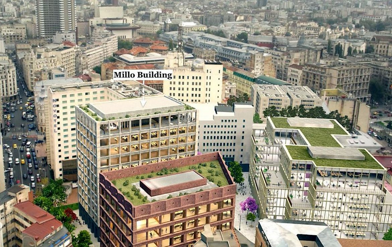 Bucuresti centru, inchiriere spatiu comercial Matei Millo, poza localizare