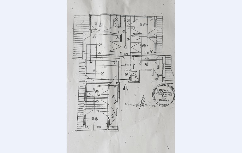 Bucuresti centru, inchiriere spatiu comercial Bulevardul Decebal, plan cladire
