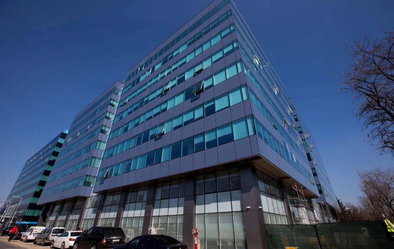 Bucuresti nord, inchiriere spatiu comercial Hermes Business Campus, poza vitrina