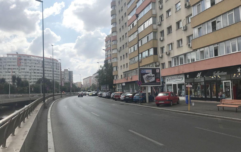 Bucuresti centru, inchiriere spatiu comercial Bucur-Obor, imagine strada