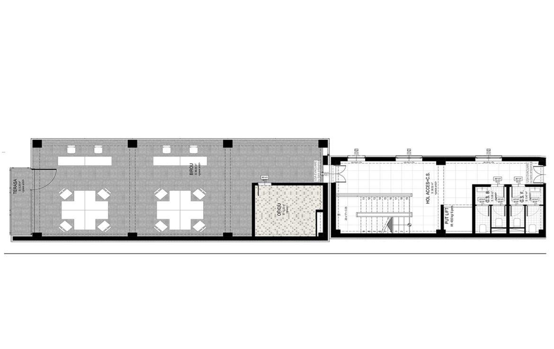 Targu Mures centru, inchiriere spatiu comercial Targu Mures, plan spatiu