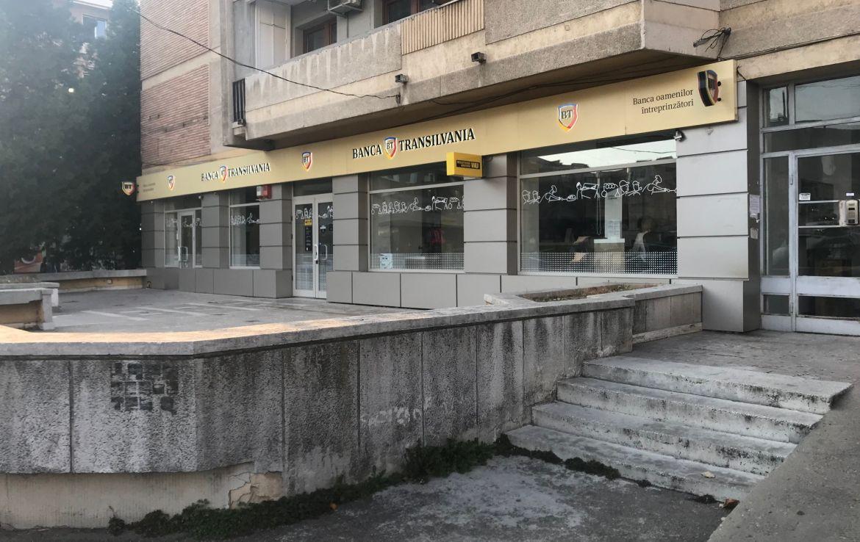 Ploiesti centru, inchiriere spatiu comercial C. D. Gherea, imagine laterala
