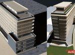 Spatiu comercial de inchiriat Piata Romana, Bucuresti centru, poza constructie