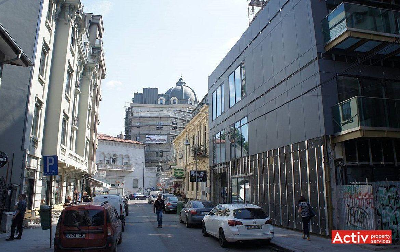 Bucuresti centru, inchiriere spatiu comercial Piata Romana, imagine laterala