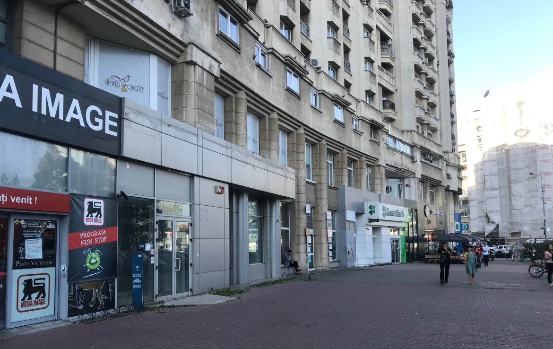 Bucuresti centru, inchiriere spatiu comercial Piata Victoriei, imagine laterala