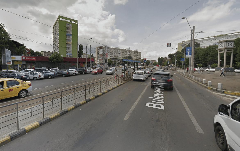 Bucuresti centru, inchiriere spatiu comercial Bd. Dimitrie Cantemir, poza trafic