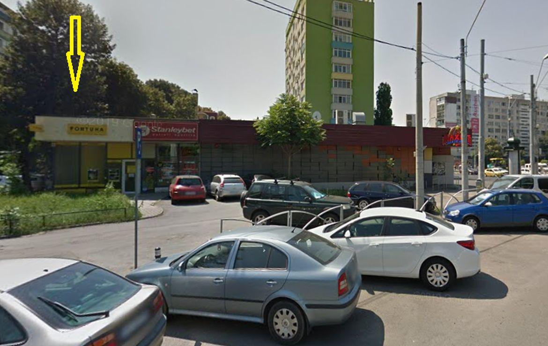 Bucuresti centru, inchiriere spatiu comercial Bd. Dimitrie Cantemir, imagine frontala