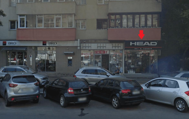 Bucuresti centru, inchiriere spatiu comercial Soseaua Stefan cel Mare, imagine frontala