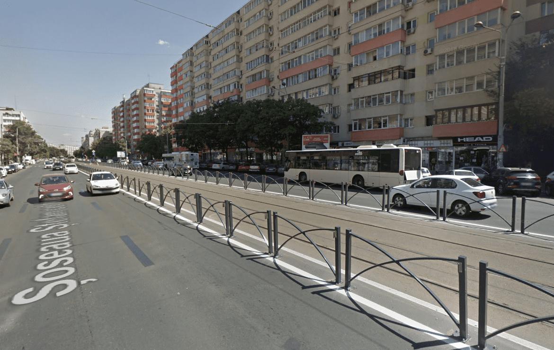 Bucuresti centru, inchiriere spatiu comercial Soseaua Stefan cel Mare, imagine trafic auto